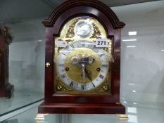 A COMITTI BRACKET CLOCK