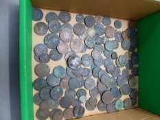 A GROUP OF EARLY ENGLISH COPPER COINAGE, MISCELLANEOUS EASTERN COINS, A VICTORIA STRAITS SETTLEMENTS