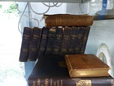 NINE SHAKESPEARE KNIGHTS CABINET EDITION BOOKS, A UNDER THE CZAR AND QUEEN VICTORIA, TENNYOSN'S