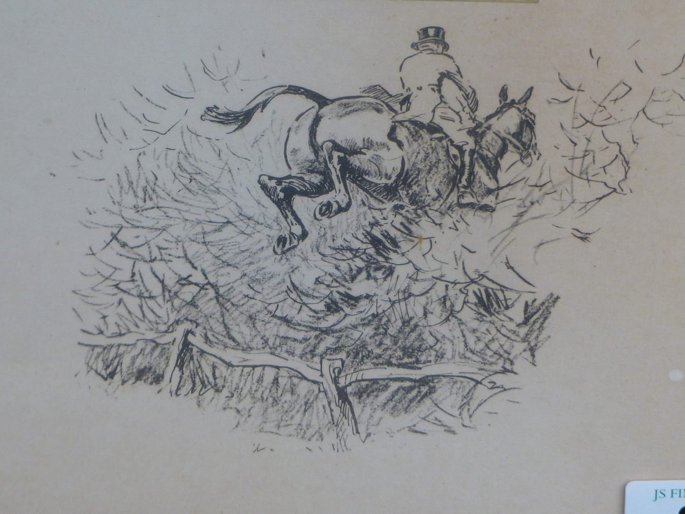 SNAFFLES, CHARLES JOHNSON PAYNE (1884-1967) THE SPARROW-CATCHIN SORT. PENCIL SIGNED COLOURED - Image 4 of 4