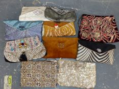 ELEVEN EVENING BAGS