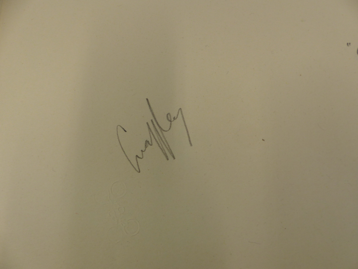 """FIFTEEN PENCIL SIGNED SNAFFLES REMARQUE MOUNTS FOR THE IMAGE TITLES """"OH TO BE IN ENGLAND, NOT THAT - Image 3 of 8"""