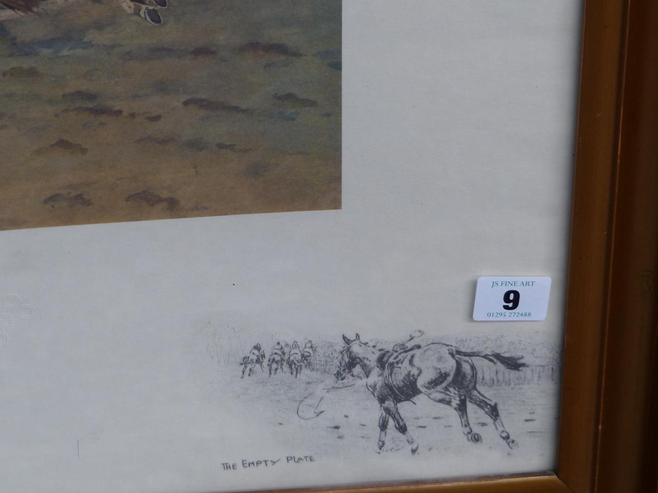 AFTER SNAFFLES, CHARLES JOHNSON PAYNE (1884-1967) SANDOWN.. COLOUR PRINT. 48 x 63.5cms - Image 5 of 6