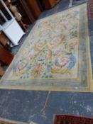 A SAVONNERIE DESIGN CARPET, 452 x 285cms