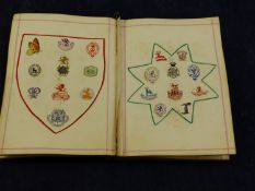 A ANTIQUE CRESTS AND MONOGRAMS BOOK
