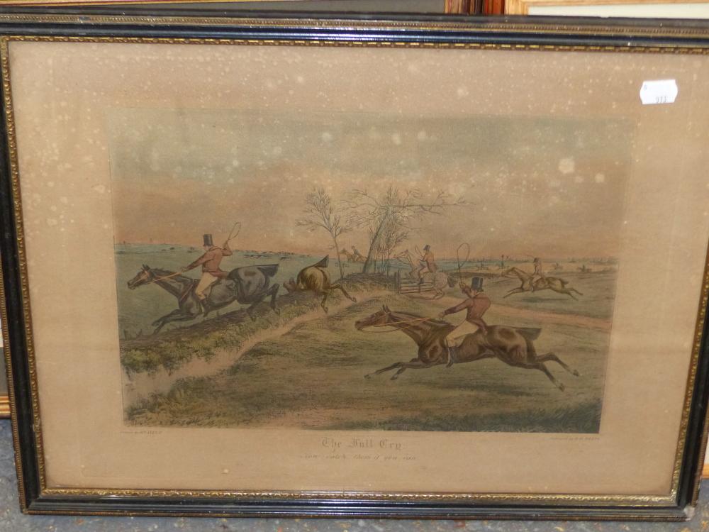 "SNAFFLES, CHARLES JOHNSON PAYNE (1884-1967) A PENCIL SIGNED COLOUR PRINT ""THAT FAR FAR AWAY ECHO""- - Image 10 of 10"