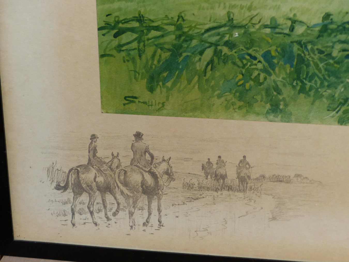 SNAFFLES, CHARLES JOHNSON PAYNE (1884-1967) IF THERE IS A PARADISE ON EARTH, IT IS THIS. PENCIL - Image 3 of 4