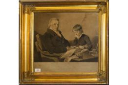 """After R R Reinagle, Engraved by C Turner, """"Francis Noel Clarke Mundy Esq"""", black and white"""