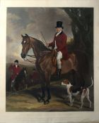 """After Francis Grant, engraved by James Scott, """"James John Farquharson, Esquire"""", hand coloured"""