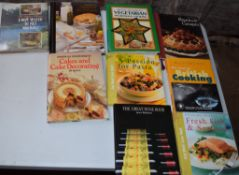 Box: 9 large format cookery
