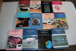 Box: 12 assorted biology/reproduction interest, mostly agricultural and equine
