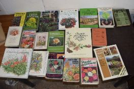 "Box: approx 20 gardening interest including ""Container gardening in your garden"" etc"