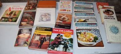 Collection of 18 various cookery books