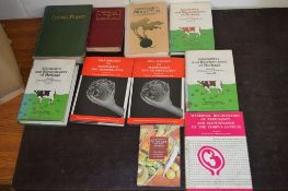 "Box: 16 agriculture including 3 vols ""Chemistry and Biochemistry of herbage"" and ""Living Plants"""