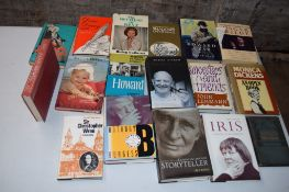 Box: 18 biographies and auto-biographies
