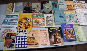Box: 20 cookery magazines and pamphlets etc
