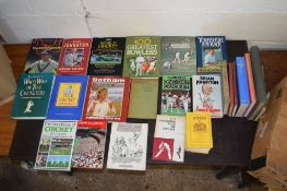"Box: approx 20 cricket interest including Hutton & Washbrook ""Cricket this way"" 1947"