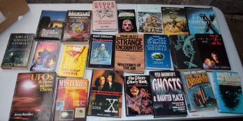 Box: 20 assorted mystery, ghosts, witchcraft interest