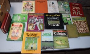 Box: 20 cricket interest, mostly biographies etc
