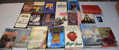 Box: 20 assorted modern first editions