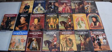 Box: collection of Kings & Queens of England (18)