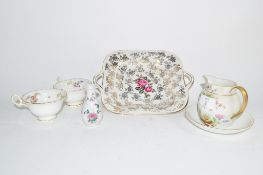 GROUP OF CHINA WARES INCLUDING DISH AND JUG