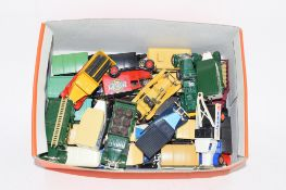 SMALL BOX OF MAINLY DAYS GONE BY MINIATURE CARS