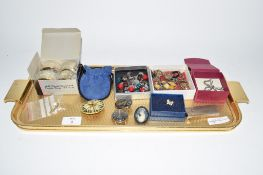 TRAY CONTAINING COSTUME JEWELLERY