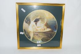 CLASSICAL PRINT IN GILT FRAME