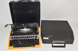 CASED TIPPA TYPEWRITER TOGETHER WITH A FURTHER TYPEWRITER