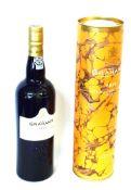 1 bottle 2015 Graham LB Vintage Port (in tube)