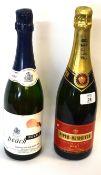 1 bottle NV Piper Heidsieck Champagne, t/w 1 bottle NV Peach Royale Sparkling Wine (2)