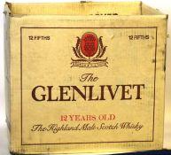1970's Glenlivet Carton (empty)