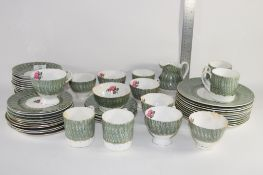 TEA WARES WITH A ROSE DESIGN BY DAKIN