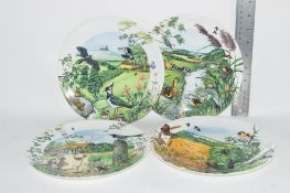 COLLECTORS PLATES BY WEDGWOOD