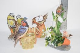 CERAMIC BIRDS FROM THE CHANCERY COLLECTION