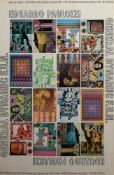 "AR Eduardo Paolozzi, ""- General Dynamic F.U.N."", coloured poster, 76 x 50cm, unframed"