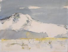 "Lindsay Bartholomew (Born 1944), ""Kindrogan Hill"", watercolour, signed and dated 1979 lower left,"