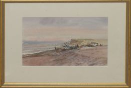 Keith Johnson, Norfolk landscapes, group of five watercolours, all signed, assorted sizes (5)