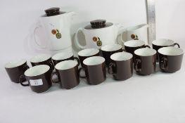 1960S/1970S JOHNSON BROS PART TEA/COFFEE SET