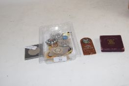 SMALL BOX WITH COINAGE INCLUDING A FESTIVAL OF BRITAIN CROWN