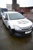 Vauxhall Astra van 1.7CDTi mileage 259638, 1 key