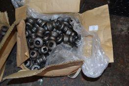Box of metal castings 4.5cm