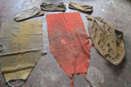 Quantity safety aprons, gauntlets and coat