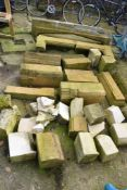 LARGE QTY NATURAL STONE