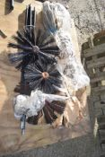 CHIMNEY CLEANING BRUSHES & RODS
