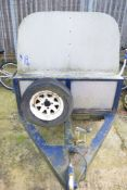 SMALL TRAILER WITH IFOR WILLIAMS CANOPY
