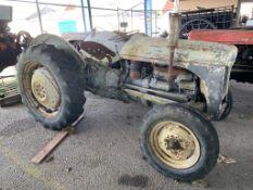 Grey Ferguson vintage diesel Tractor
