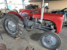 Vintage Ferguson Tractor Seen running