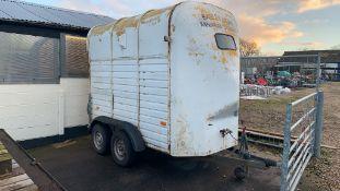 Trailered Horsebox